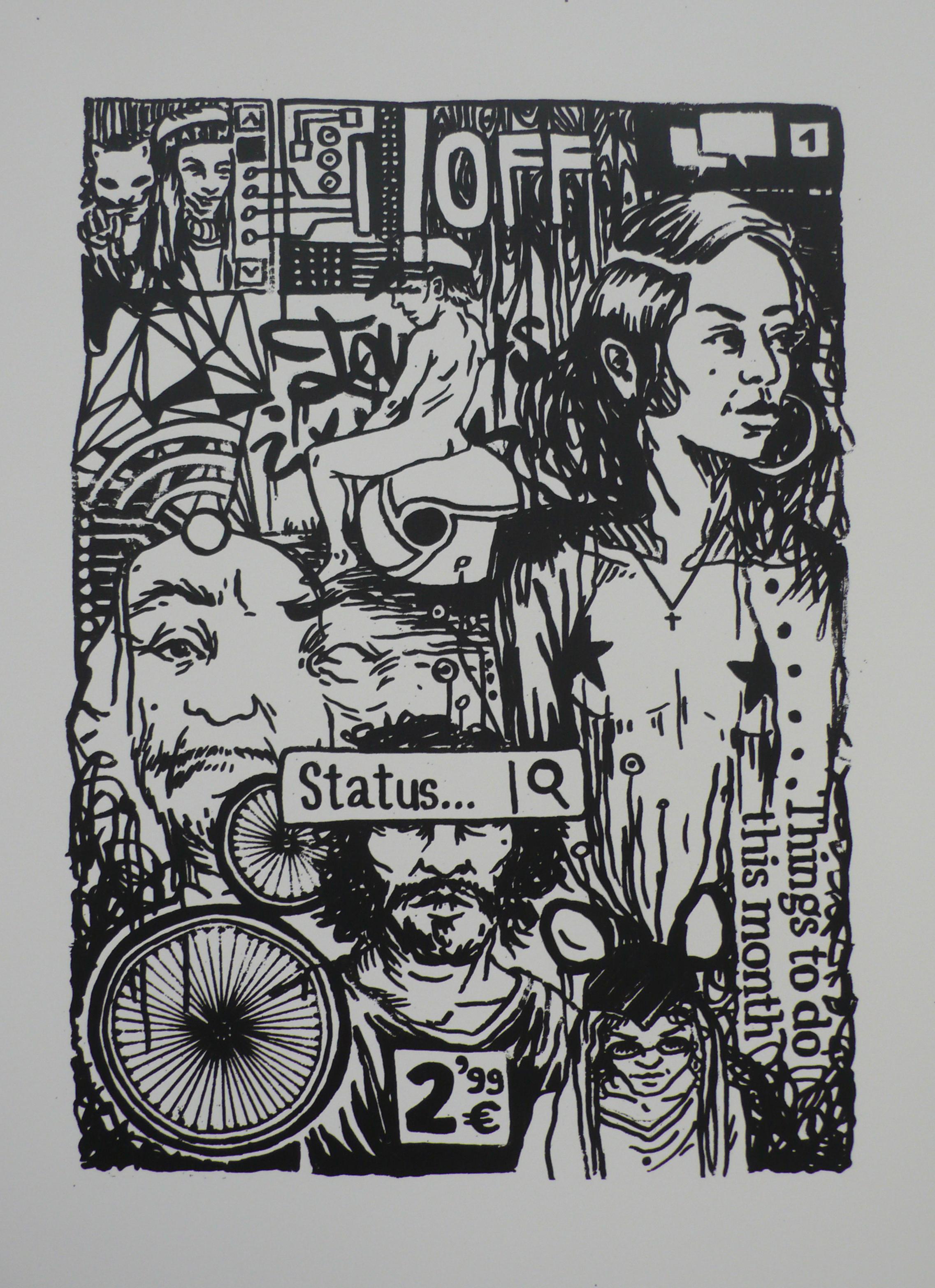 Grafic, 50x35 cm, 2015