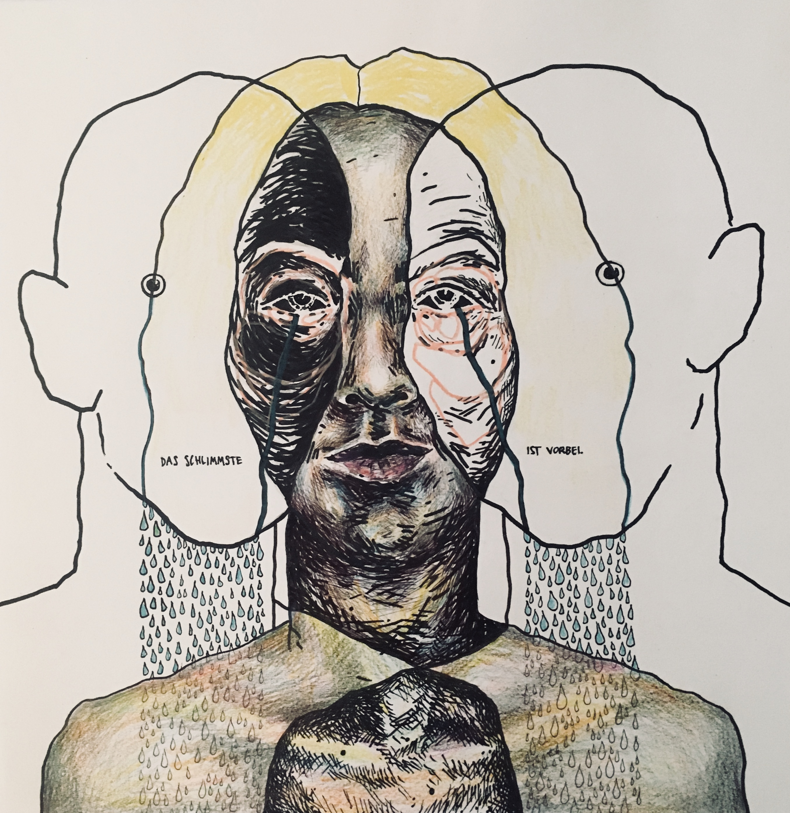 Pen on Paper, 30 x 30 cm, 2019