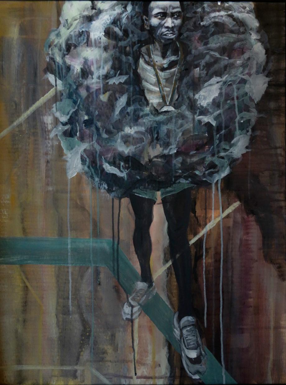 Acrylic on Cardboard, 80x60 cm, 2014