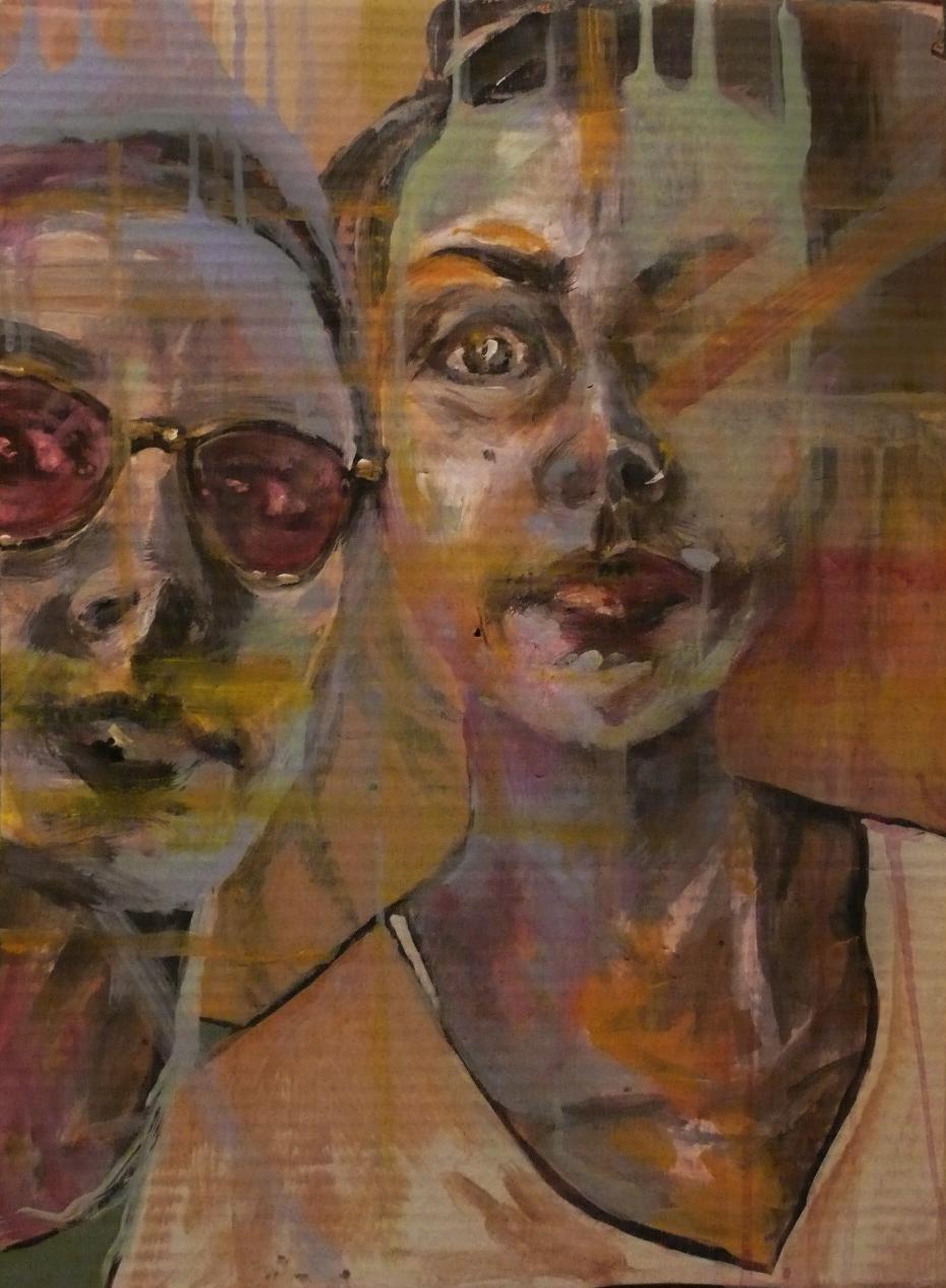 Acrylic on Cardboard, 70x50 cm , 2015