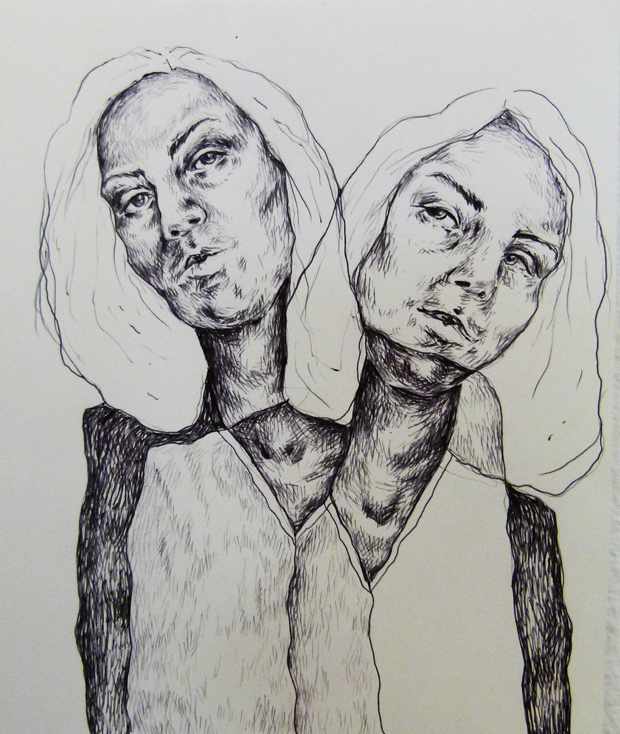 pen on paper, 20 x 15 cm, 2016, sold