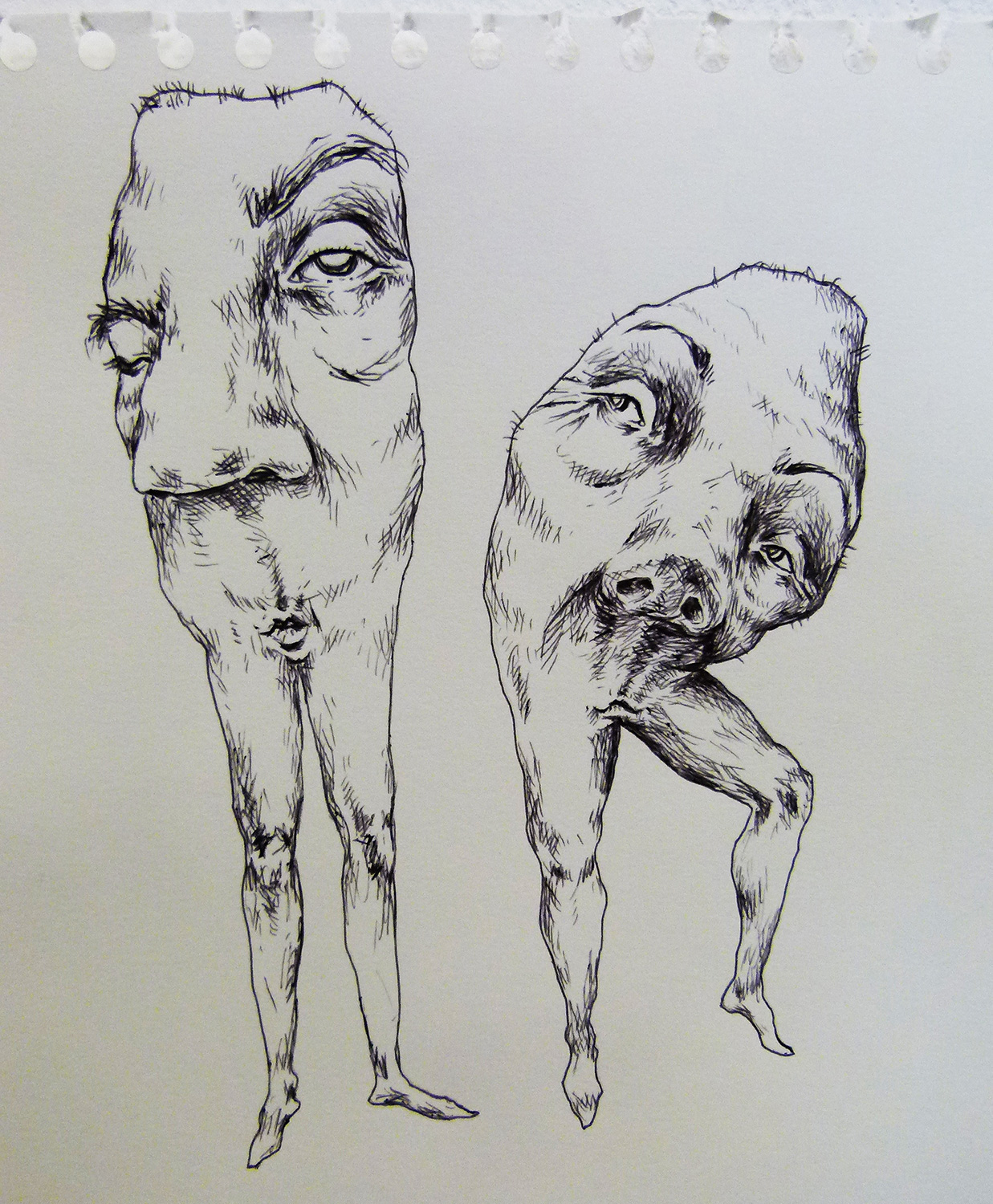 Pen on Paper, 20 x 20 cm, 2016, sold