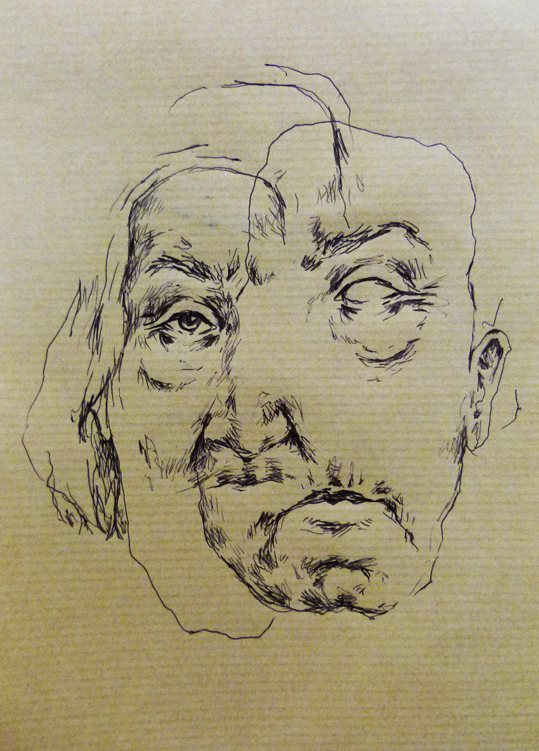pen on paper, 20 x 15 cm, 2016