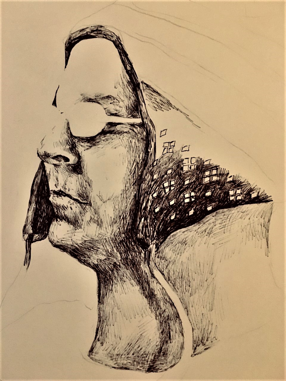 Pen on Paper, 20 x 30 cm, 2019