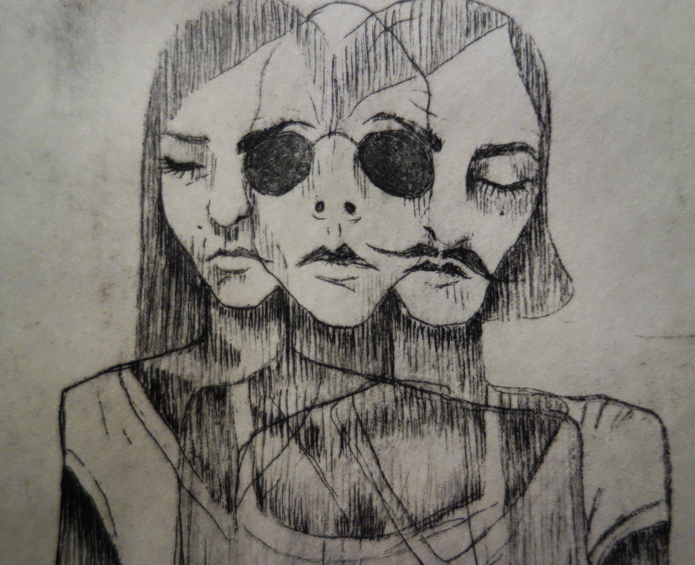 Etching, 18x10cm, 2014, sold